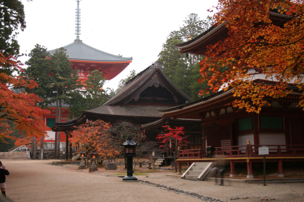 Image result for koyasan  fall 2018